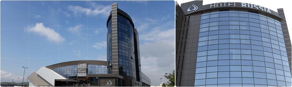 Hotel Russia Skopje Macedonia Cre International Construction Consulting Belgrade Serbia
